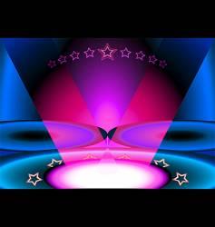 club scene vector image vector image