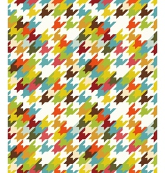 Houndstooth seamless vector image
