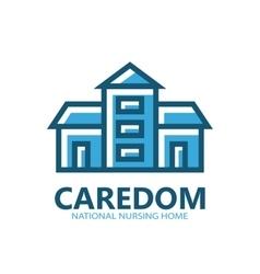real estate icon or logo vector image