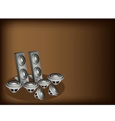 Set of Speaker vector image vector image