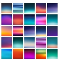 abstract colorful smooth blurred vector image