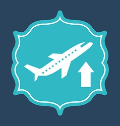 airport icons vector image
