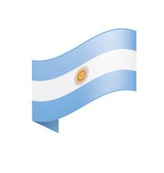 Argentina flag vector