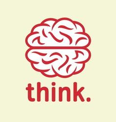 brain simple1 resize vector image