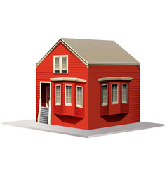 building design for small house vector image