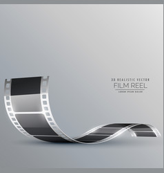 clean film strip background vector image