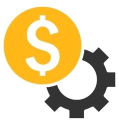 Development Cost Flat Icon vector