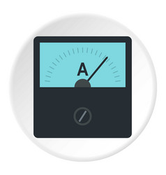 Gauge element icon circle vector
