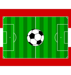 Soccerfield Austria vector