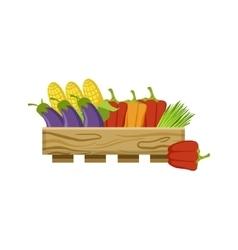 Vegetables On Market vector