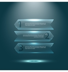 infographics set and Information technology vector image