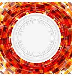 Abstract technology circle digital vector image