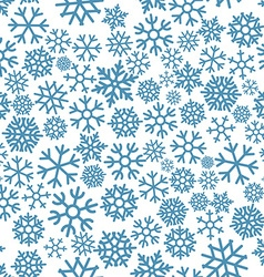 Colorful Christmas Seamless Pattern with vector image vector image