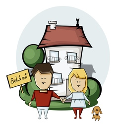 Buying a home vector