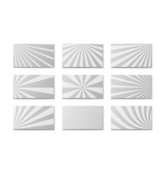 comic monochrome banners composition vector image