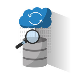 Data center server storage cloud search solution vector