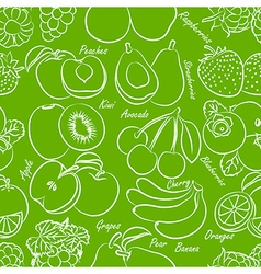fruits seamless vector image