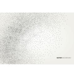 Grunge halftone ink background vector image