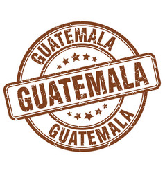 Guatemala stamp vector