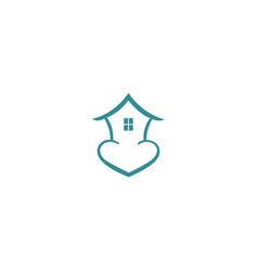 Home care logo concept vector