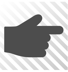 Index finger icon vector
