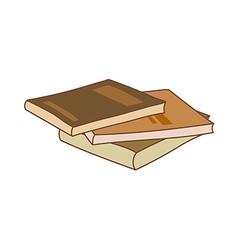 The text book vector