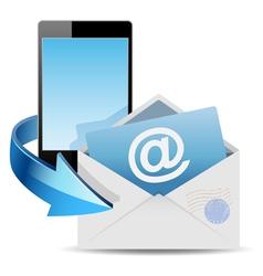 envelope mail vector image