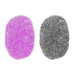 thumb impression vector image