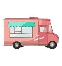 ice cream van vector image