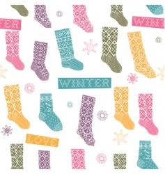 socks vector image