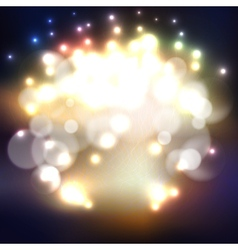 Blurry background with bokeh effect abstract vector