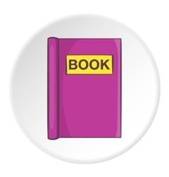 Book for read icon cartoon style vector