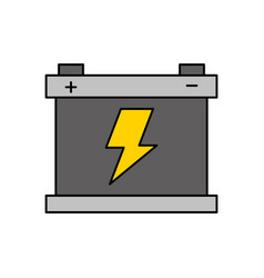 Car battery accumulator energy power and vector