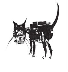 Cat Computer vector