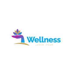 female yoga logo design symbol icon vector image