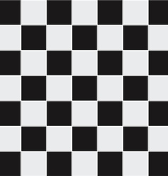seamless black and white tiles vector image