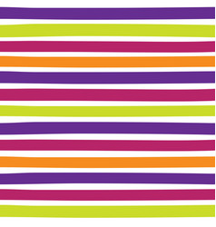 Seamless colorful pattern with horizontal stripes vector