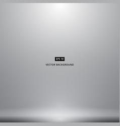 smooth dark grey white with black vignette studio vector image vector image