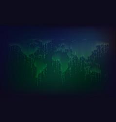 binary world vector image