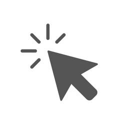click icon computer mouse click cursor vector image