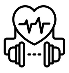 Current defibrillator icon outline style vector