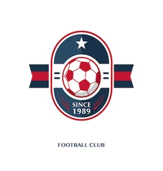 Football Badge 8 vector