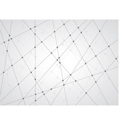 line and dot pattern background vector image