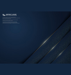 modern abstract luxury gradient blue template vector image