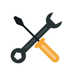 screwdriver icon image vector image
