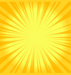 summer sunburst background glowing radiant vector image