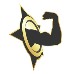 symbol for fitness vector image