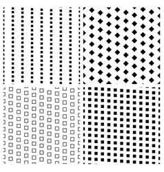 geometric simple seamless patterns vector image vector image