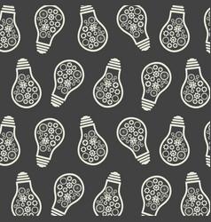 light bulb pattern eureka lamp new idea for vector image
