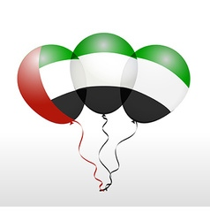 Balloons in as National Flag vector
